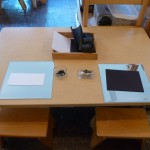 Drawing Table - Set for Two