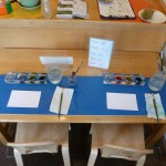 Watercolor Painting Table