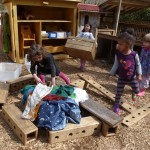Big Building & Pretending with Loose Parts