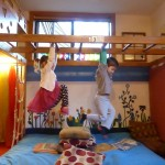 Loft Room - Monkey Bars