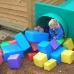 Foam Block Play