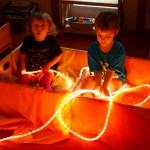 Loft Room - Rope Lights