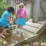 Water Deck Clean Up Shower