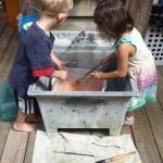 Outdoor Clean Up Sink