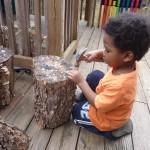 Hammering Stump Action
