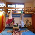 Loft Room - Monkey Bars