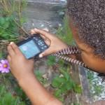 Garden Study with Kid Camera